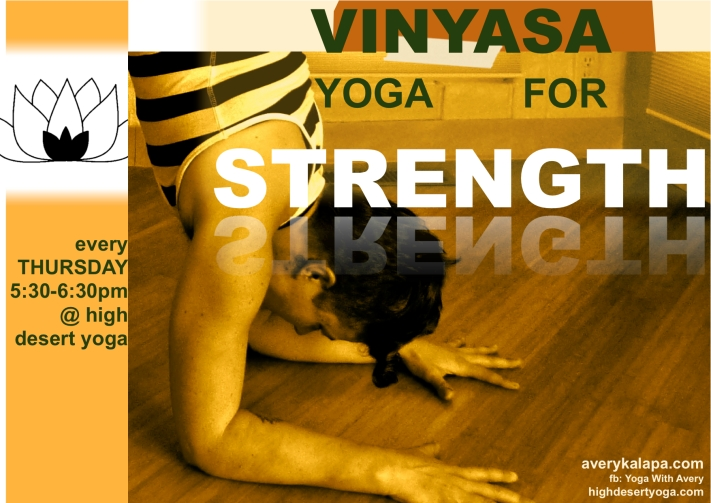 vinyasa for strength flier 1:2014